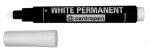 Маркер White Permanent 8586