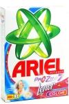 Порошок Ariel Lenor effect Color для машинного прання кольорової білизни