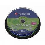 Диск CD-RW 700Mb Verbatim.
