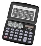 Калькулятор кишеньковий CITIZEN FS-60BKII