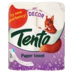 Рушники паперові TENTO DECOR