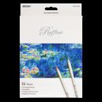 Олівці кольорові Raffine , набір 36шт