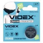Батарейка CR2032 VIDEX