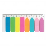 Закладки пластикові неонового кольору