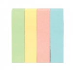 Закладки паперові пастельних кольорів