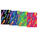Книга канцелярська, серія  «Colour Rain», формат А4
