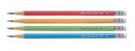 Олівець графітний Axent 9001-A з гумкою, НВ