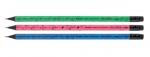 Олівець графітний Axent 9008-A з гумкою, НВ