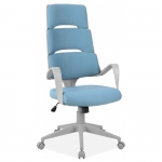 Крісло для персоналу  Signal Q-889 Blue/Grey